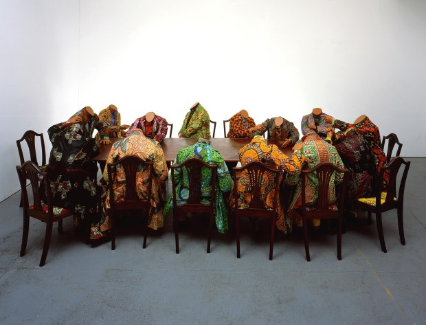 Scramble for Africa by Yinka Shonibare